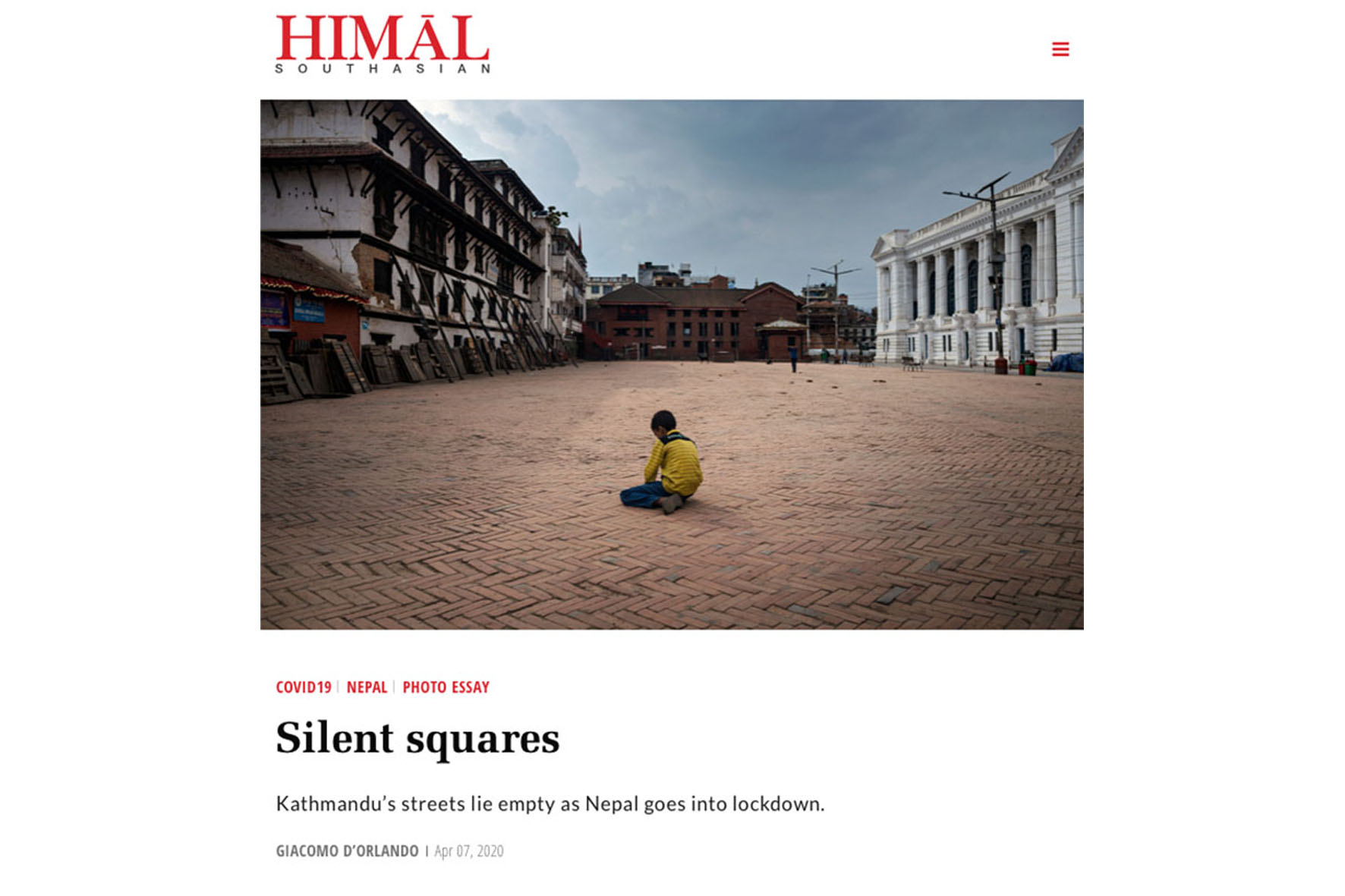"""Featured image for """"HIMĀL SOUTHASIAN APRIL 2020"""""""